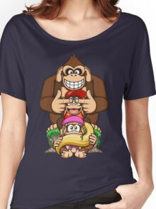 Sanzaru Kong Women's Relaxed Fit T-Shirt