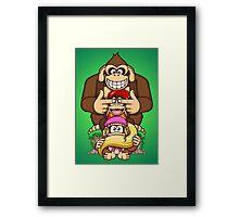 Sanzaru Kong Framed Print