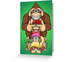 Sanzaru Kong Greeting Card
