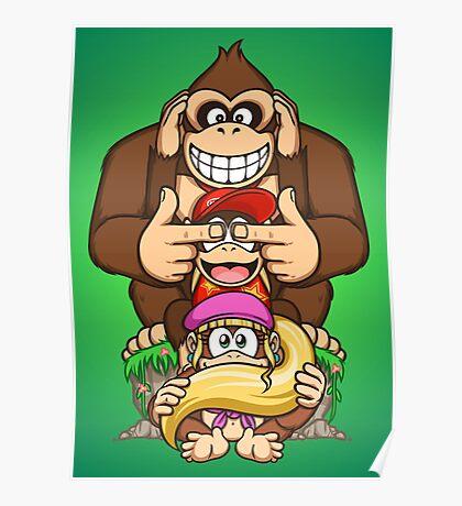 Sanzaru Kong Poster
