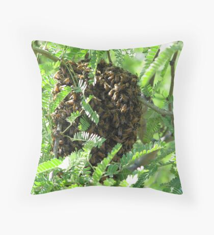 """The Buzz"" Throw Pillow"