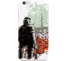 Big Boss (warm colours) iPhone Case/Skin