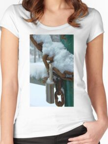 Do you have a key ? Women's Fitted Scoop T-Shirt