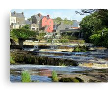 The Falls, Ennistymon, Co Clare Canvas Print