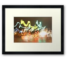 Expose on the Road Framed Print