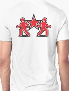 Dancing shuffle man RED STAR T-Shirt