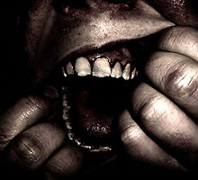 Ripping open mouth by MelissaTurner