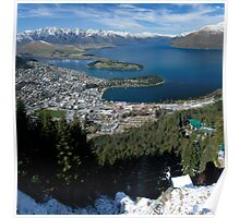 Queenstown and The Remarkables Poster