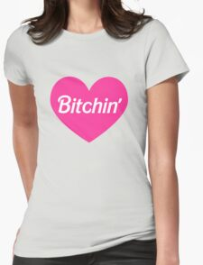 Bitchin' Barbie Pink Heart Design T-Shirt