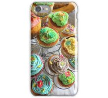 Cup cakes for afternoon tea. iPhone Case/Skin