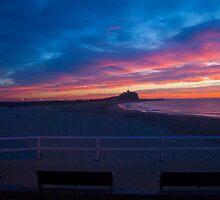 Sunrise at Nobby's Beach by Paul Lamble