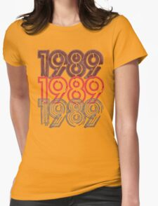 1989 Tour Womens Fitted T-Shirt