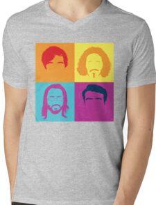 Sil-ICONIC Valley Mens V-Neck T-Shirt