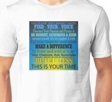 Your Life is Now - Inspirational Unisex T-Shirt