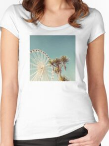 The Height of Summer Women's Fitted Scoop T-Shirt