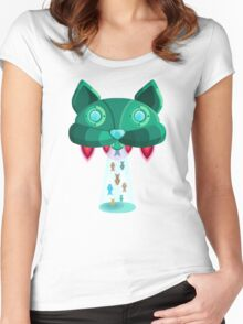 CatShip Women's Fitted Scoop T-Shirt