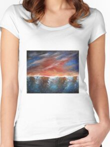 Tidal dreams Women's Fitted Scoop T-Shirt