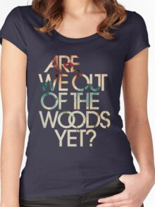 Are We Out Women's Fitted Scoop T-Shirt