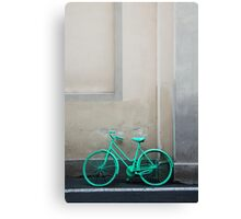 Green Cycle Canvas Print