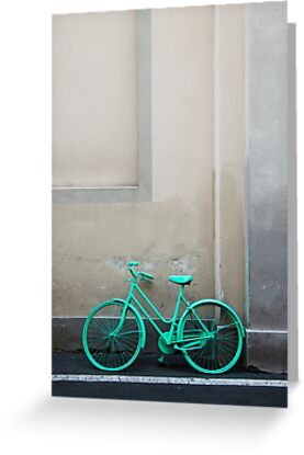 Green Cycle by Andrew Bret Wallis