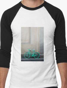 Green Cycle Men's Baseball ¾ T-Shirt