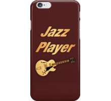 Guitar Jazz Player iPhone Case/Skin