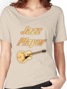 Guitar Jazz Player Women's Relaxed Fit T-Shirt