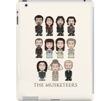 The Musketeers cast (print or card) iPad Case/Skin