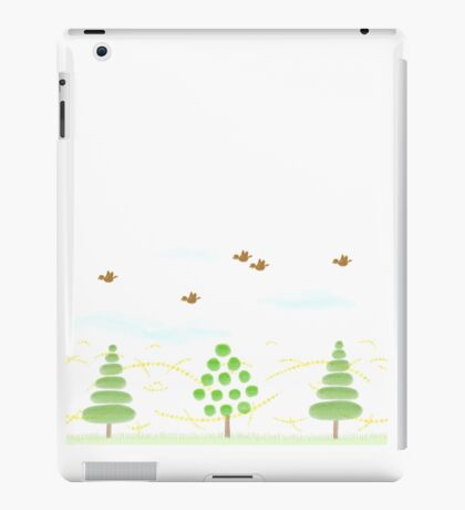 Trees of various forms iPad Case/Skin