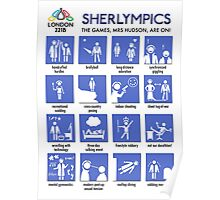 Sherlympics (print/poster/notebook) Poster