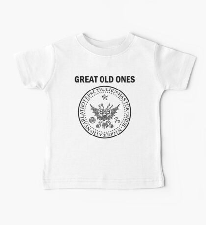 Seal of the Great Old Ones - Black Baby Tee