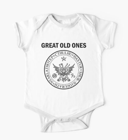 Seal of the Great Old Ones - Black One Piece - Short Sleeve