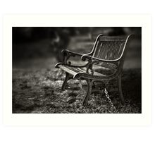 I am waiting, forever young Art Print