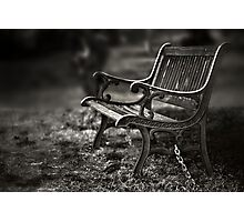 I am waiting, forever young Photographic Print