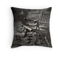 I am waiting, forever young Throw Pillow