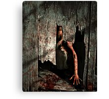 Because I could Not Stop For Death Canvas Print