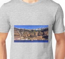 Firá Harbour and Town Unisex T-Shirt