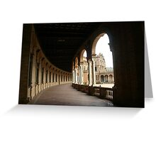 Through these Arches Greeting Card