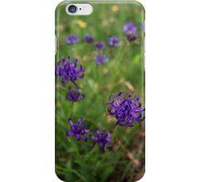 Purple rampion iPhone Case/Skin