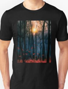Red feather dance T-Shirt