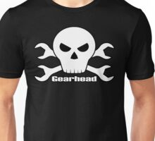 Gearhead Skull & Wrenches Unisex T-Shirt