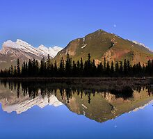 Mountain Reflections - Banff National Park, Alberta by JamesA1