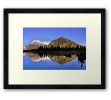 Mountain Reflections - Banff National Park, Alberta Framed Print