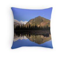 Mountain Reflections - Banff National Park, Alberta Throw Pillow