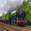 Tornado Steam Train by Jane-in-Colour