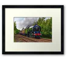 Tornado Steam Train Framed Print