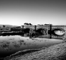 Ross Bridge in HDR & monochrome by Elana Bailey