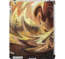 Terrestrial Brush Strokes  iPad Case/Skin