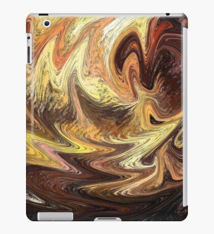 Terrestrial Brush Strokes  iPad Case/Skin