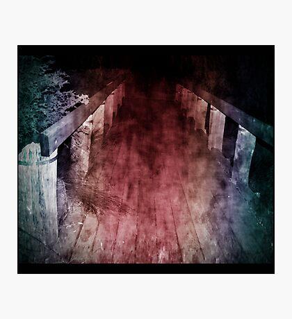 bridges we cross Photographic Print